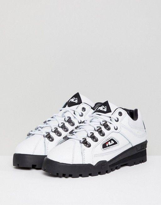 Trail Blazer Boots In White - White Fila YIA8Dh