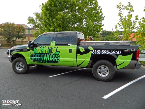 Fleet Wraps Help Brand GreenWorks Landscape Design ...
