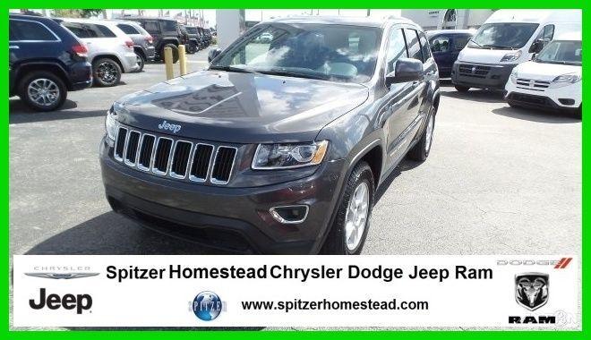 Car Brand Auctioned Jeep Grand Cherokee Laredo 2015 Laredo New 3 6