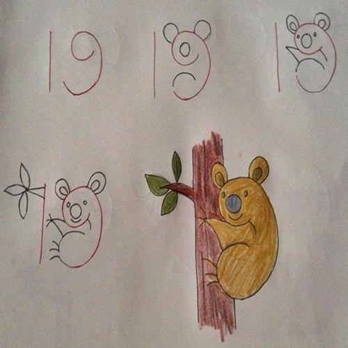 فلامینگو نقاشی کودکان