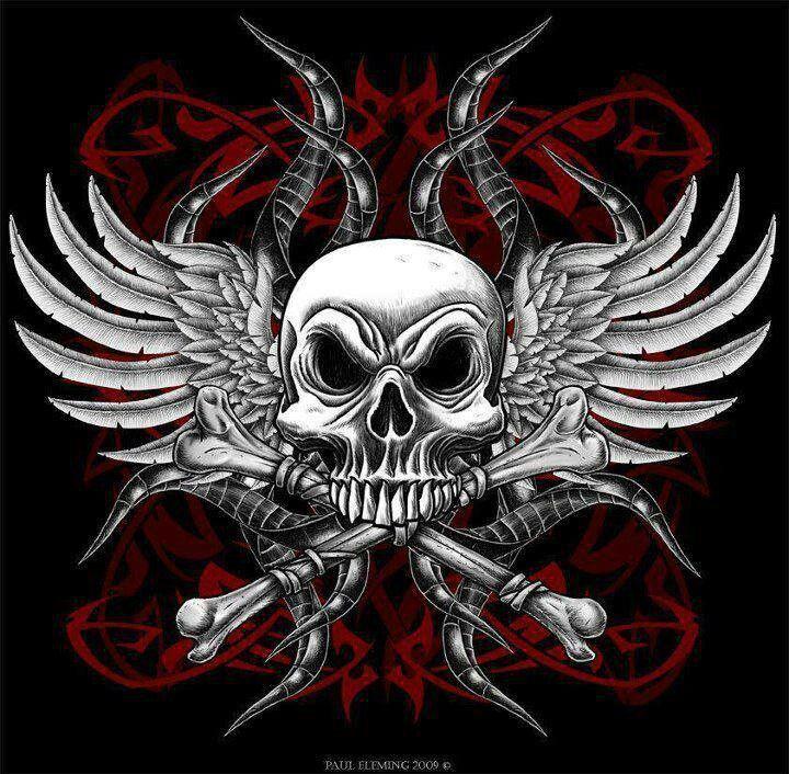 ☮✿★ SKULL ✝☯★☮ Skull art, Day of the Dead, sugar