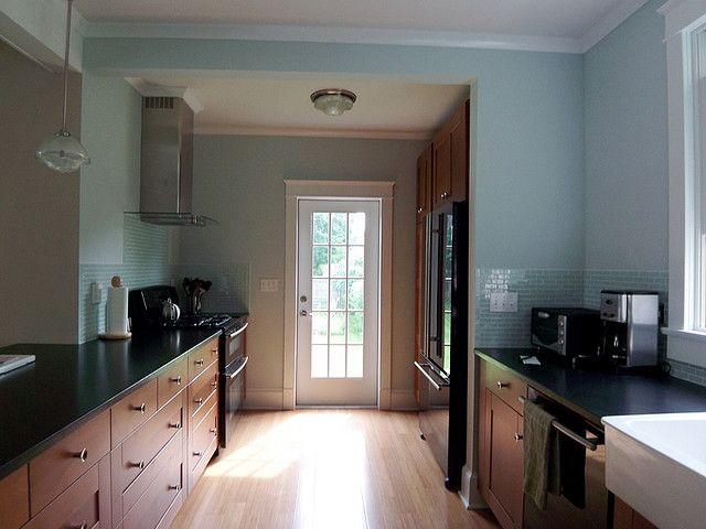 Back Door Farm House Colors Home Kitchen Colors