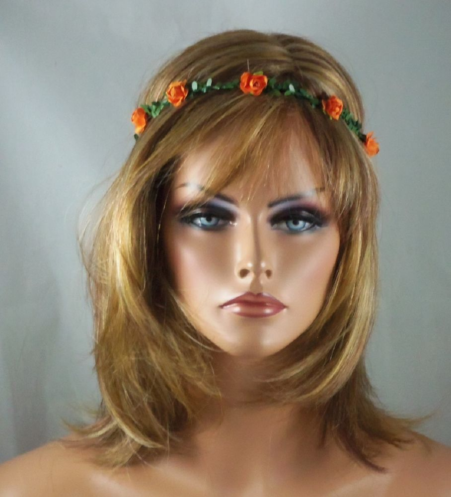 Flower Crown Headband Halo Boho Hippie Hair Accessorie Rave Festival