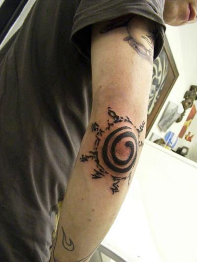 Naruto Symbol By T O N E Tattoos Pinte