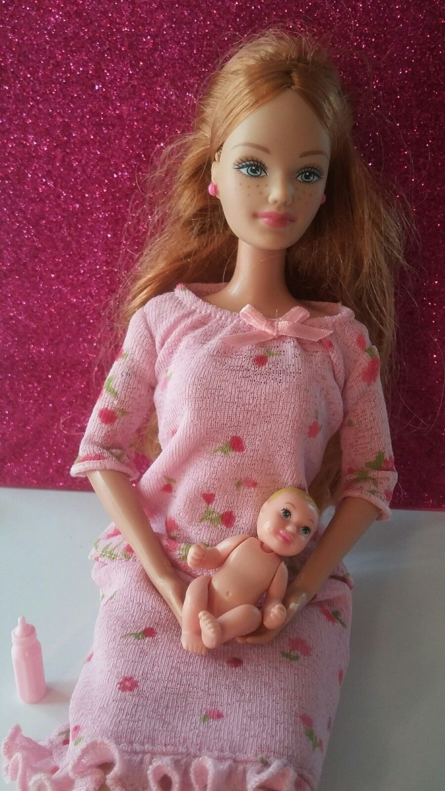 Site, with pregnant barbie doll apologise, that