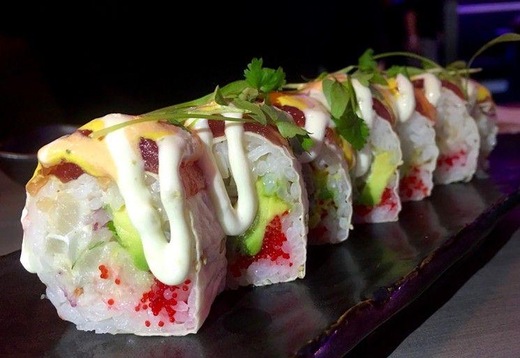 Ten Best Sushi Restaurants In Broward County 2016 Haruko Anese Fusion Pembroke Pines