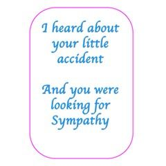Not so sympathy card 5 x 7 from custom dropshipper front cover not so sympathy card 5 x 7 from custom dropshipper front cover m4hsunfo