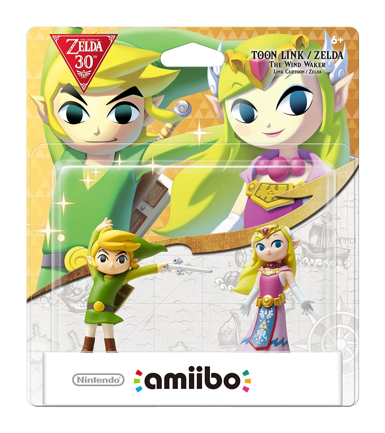 Nintendo Toon Link and Zelda : The Wind Waker amiibo 2-Pack - Nintendo Wii U http://amzn.to/2fLxC0W
