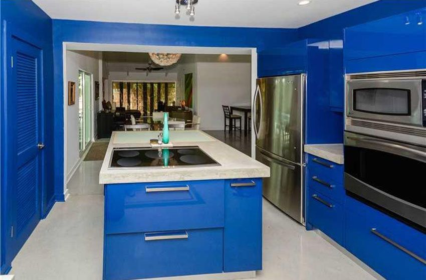 Best 33 Blue And White Kitchens Design Ideas Blue Kitchen 640 x 480