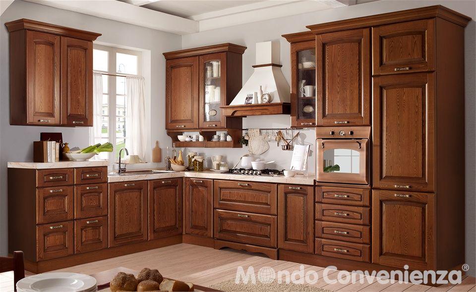 Cucina Lucrezia - Cucina composizione tipo - Classico - Mondo ...