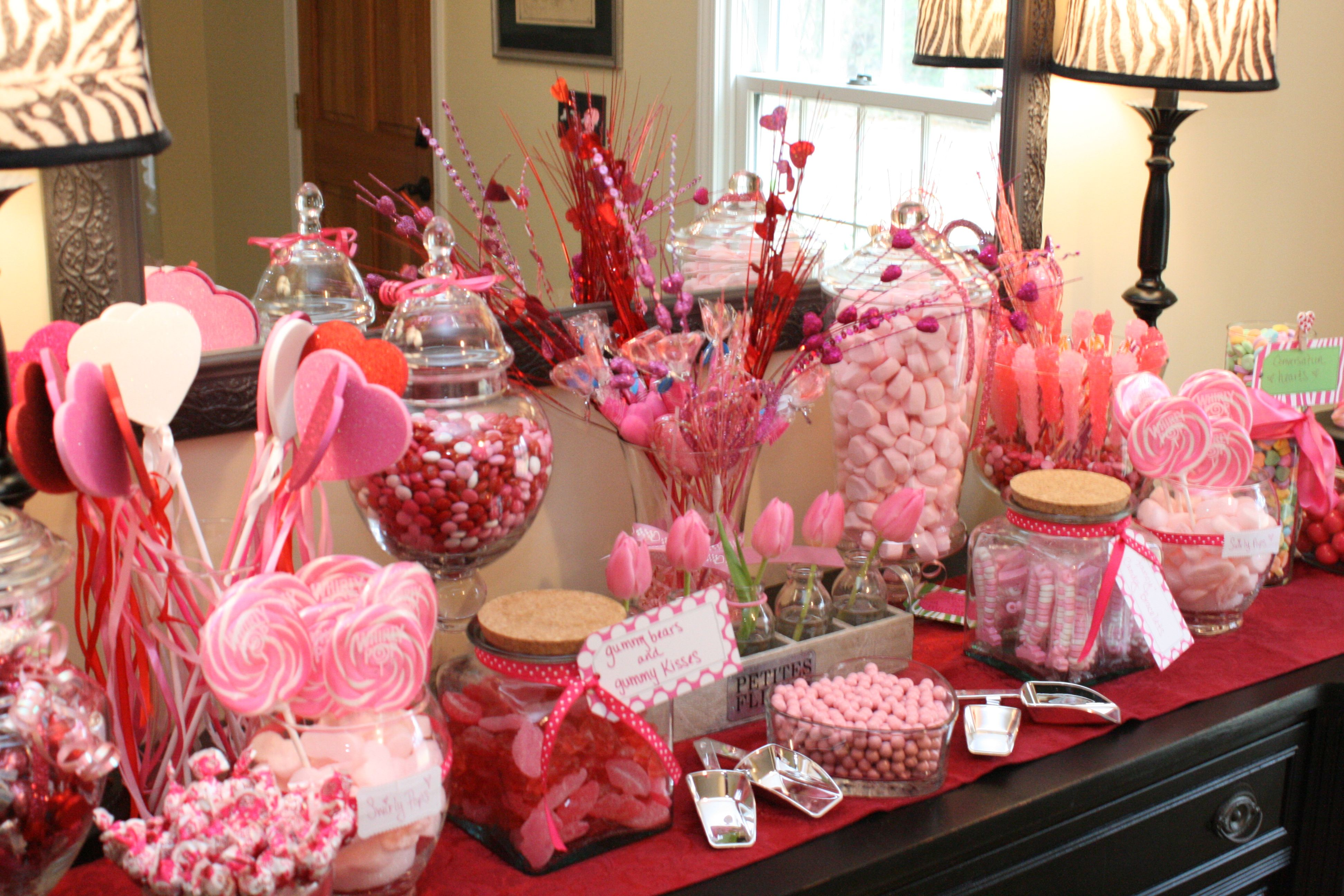 Gigi S Fancy Nancy Pinkalicious Bday Party Candy Buffet Candy Party Birthday Fun Bday Party