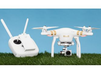 "DJI Phantom 3 Professional | The DJI Phantom 3 Professional drone delivers a more refined flying experience and superior video quality to its predecessor, and earns ""The Editor's Choice"" with PC Magazine"