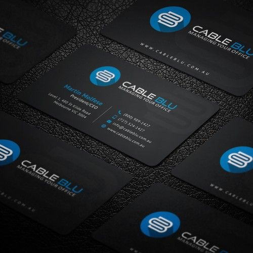 Cable blu business card design my company is called cable blu we cable blu business card design my company is called cable blu we provide companies copiers colourmoves