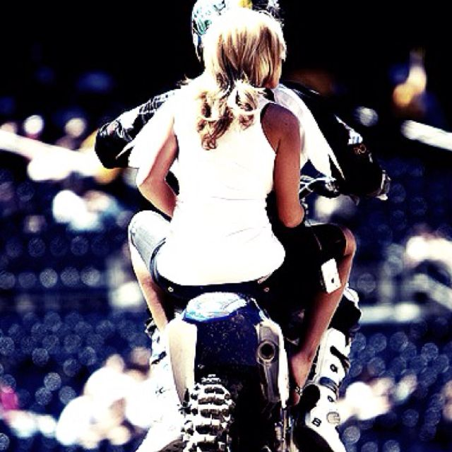 There is a feeling out there better then the feeling you get when you take someone for a ride on a dirt bike ..........    But I haven't found it yet