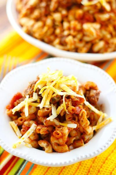 Goulash will take you right back. This nostalgic dinner is easy to make, and so darn tasty Click through for recipe!