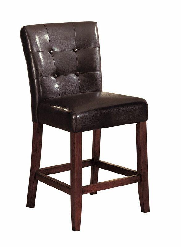 Peachy Acme 07242 Set Of 2 Bologna Espresso Leatherette Cherry Unemploymentrelief Wooden Chair Designs For Living Room Unemploymentrelieforg