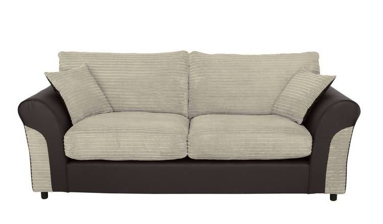 Super Buy Argos Home Harry 3 Seater Fabric Sofa Natural Sofas Pdpeps Interior Chair Design Pdpepsorg