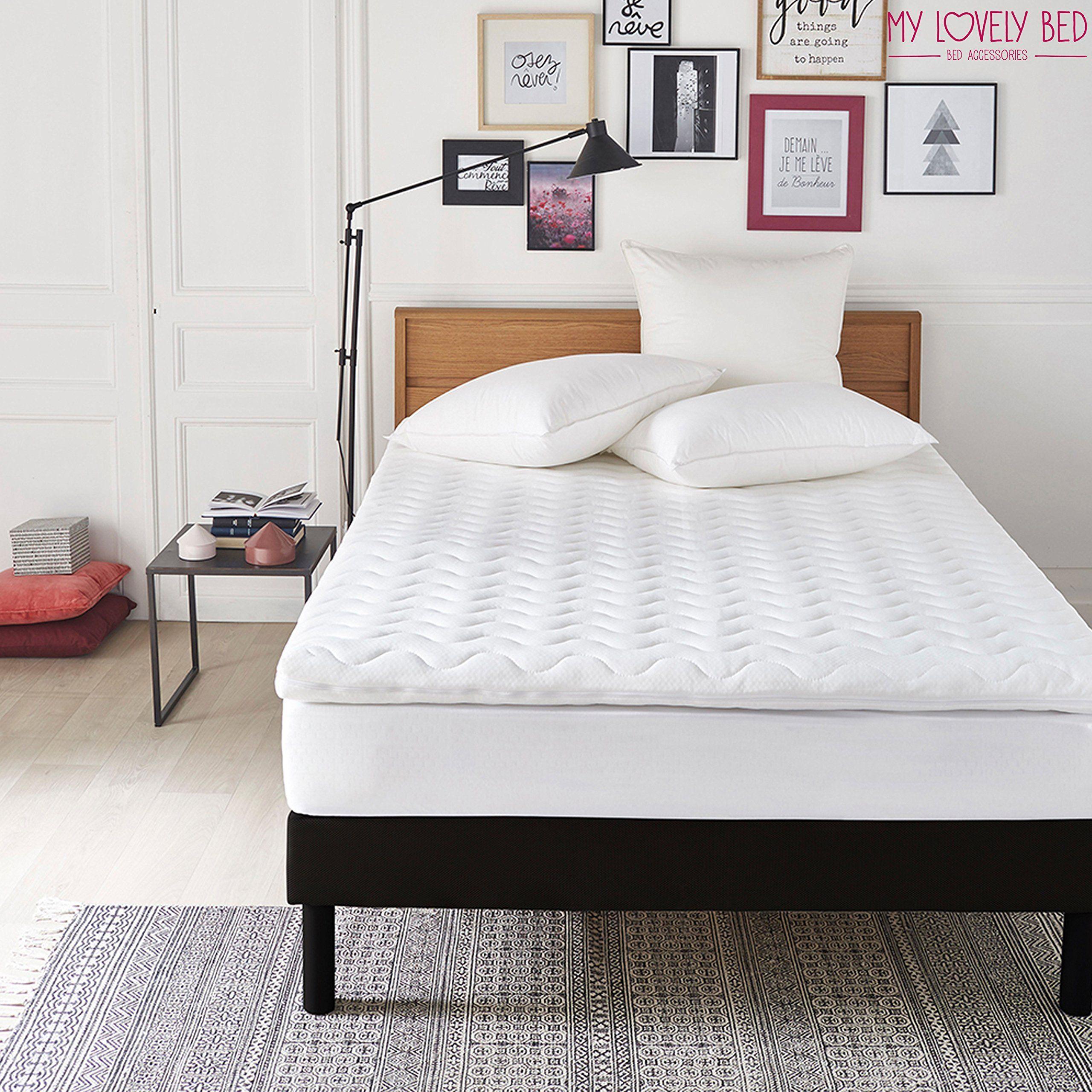 Rinnova il materasso Matrimoniale My Lovely Bed - Altezza 7CM Correttore Materasso Memory 160x200 cm Topper Memory Foam Matrimoniale Ergonomico