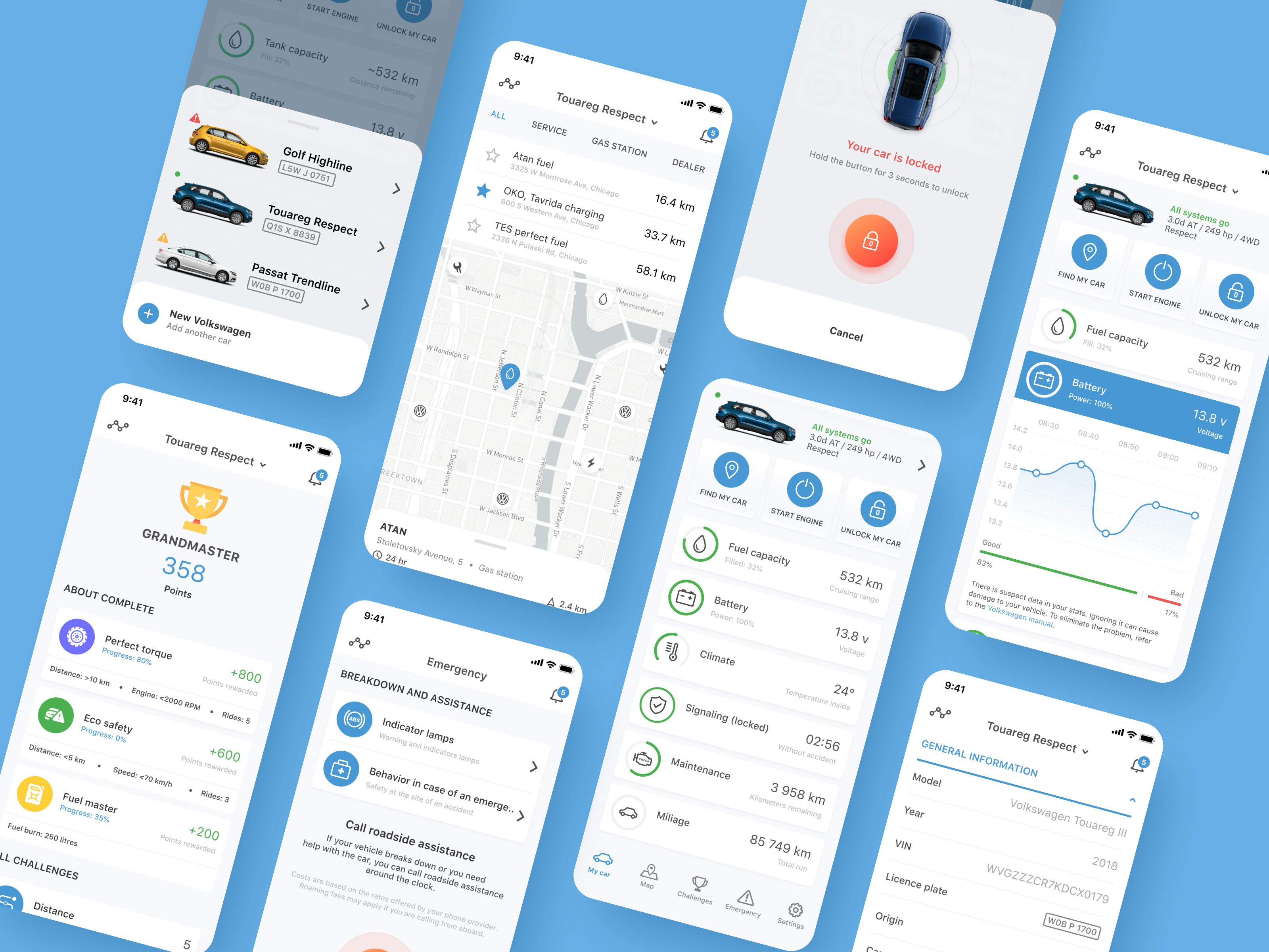 Volkswagen App Redesign