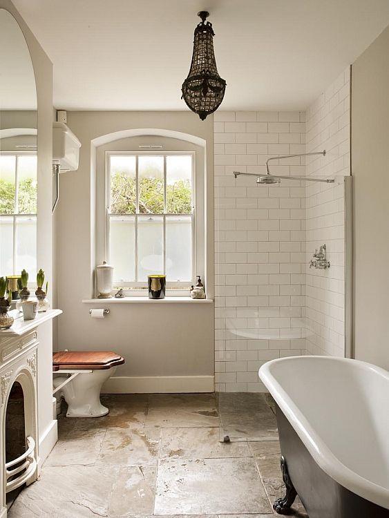19th Century Flat Hampstead Bathroom