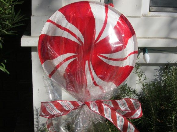 lollipop christmas decorations diy