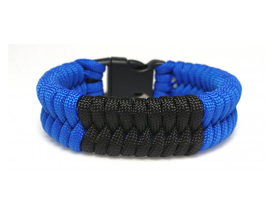 BLUE BJJ Belt Paracord Keychain