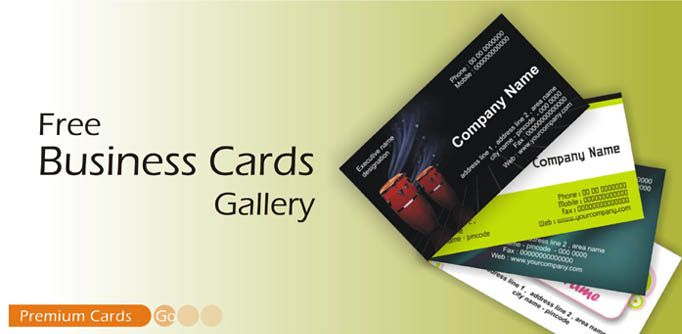Free Visiting Card Maker Online Free Business Card Design