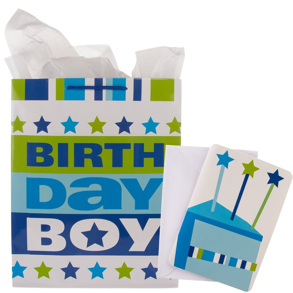 Hallmark 8 Pack Birthday Gift Bag Sets Cards Tissue Paper Boys Girls Party Favors