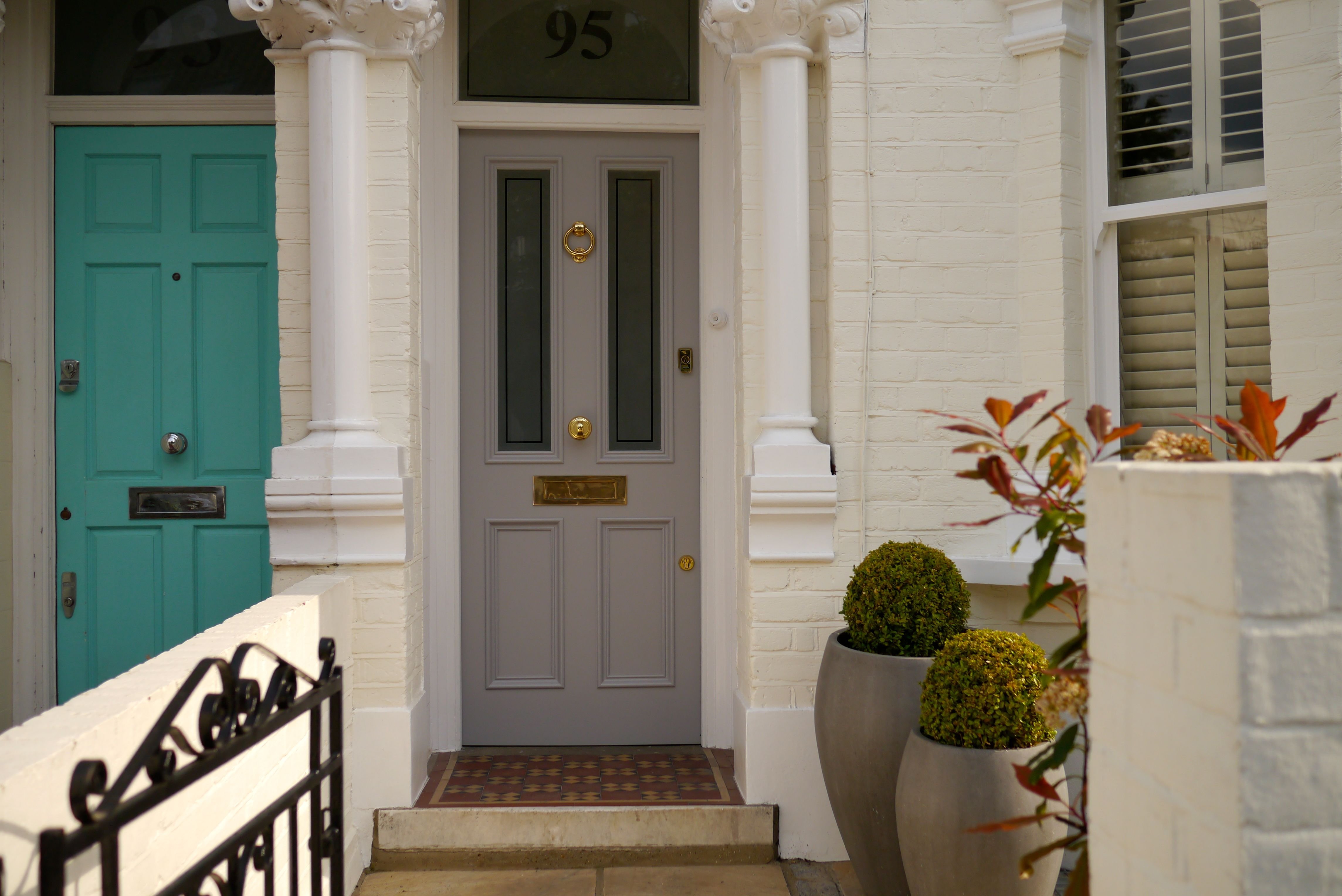 The London Door Company - Front Door Fulham, London - LDC Stone ...