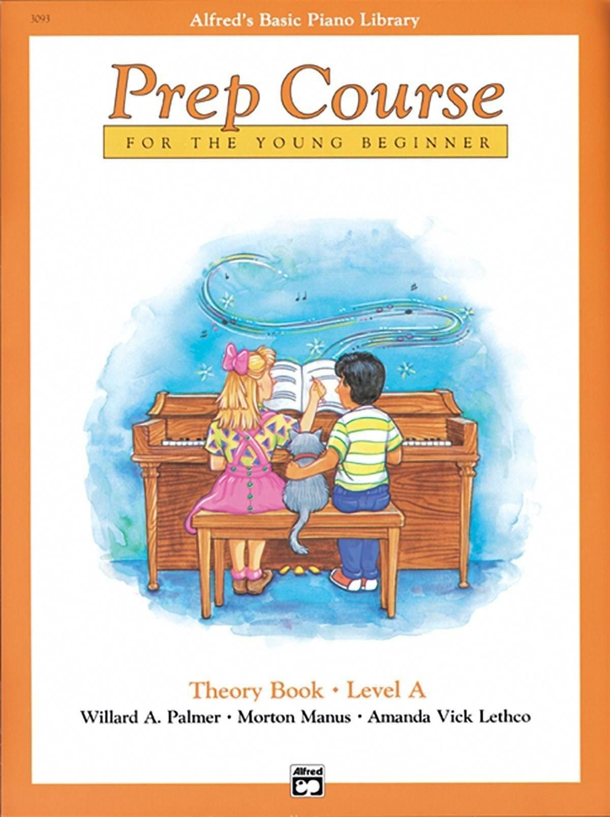 Alfreds basic prep course theory level a pianolessons