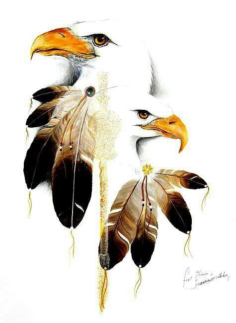 Native American Art I Love Eagles Especially The Bald