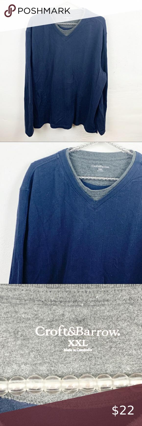 Croft Barrow L Plus Size Crewneck Sweatshirt Crew Neck Sweatshirt Sweatshirts Plus Size [ 1740 x 580 Pixel ]