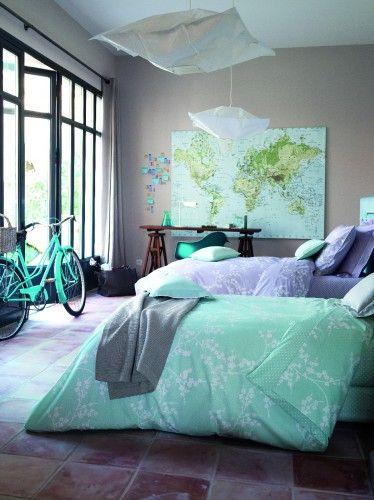 8 Habitaciones En Gris Y Turquesa Color Gris Diseño De