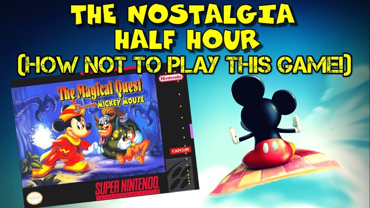 the magical quest starring mickey mouse snes  the