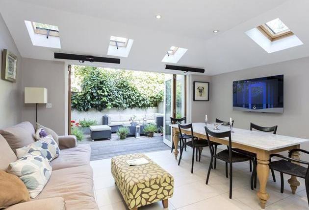 Extension Living Room Dining TV