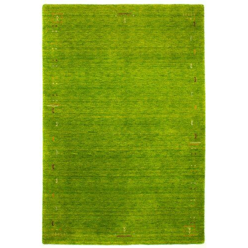 Handgefertigter Teppich Stevie in Grün Bloomsbury Market Teppichgröße: Läufer 80 x 400 cm