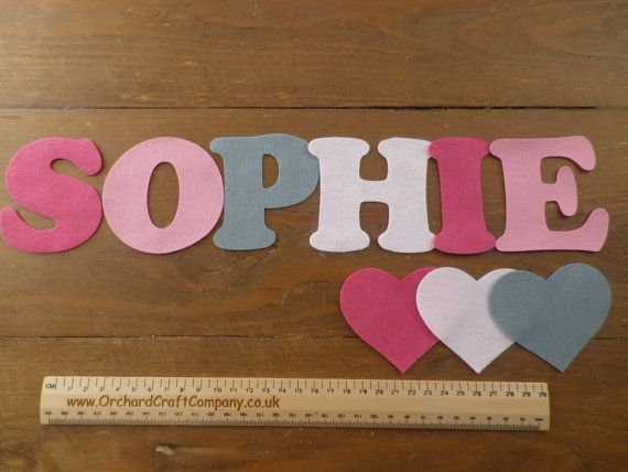 Large Felt Letters And Numbers X 7 7 5cm Quality Felt Etsy Felt Letters Letters And Numbers Felt