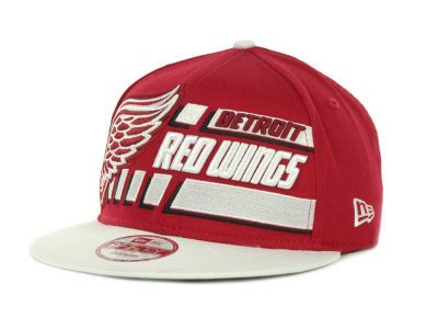 newest 447d7 b073b Detroit Red Wings NHL Line Change 9FIFTY Snapback Hats