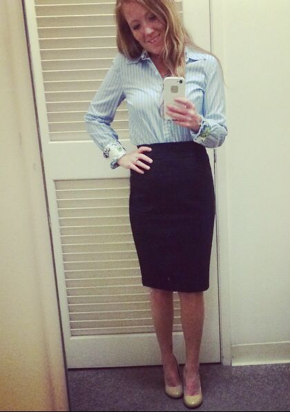 Interview outfit Although I look like a flight attendant - air flight attendant sample resume