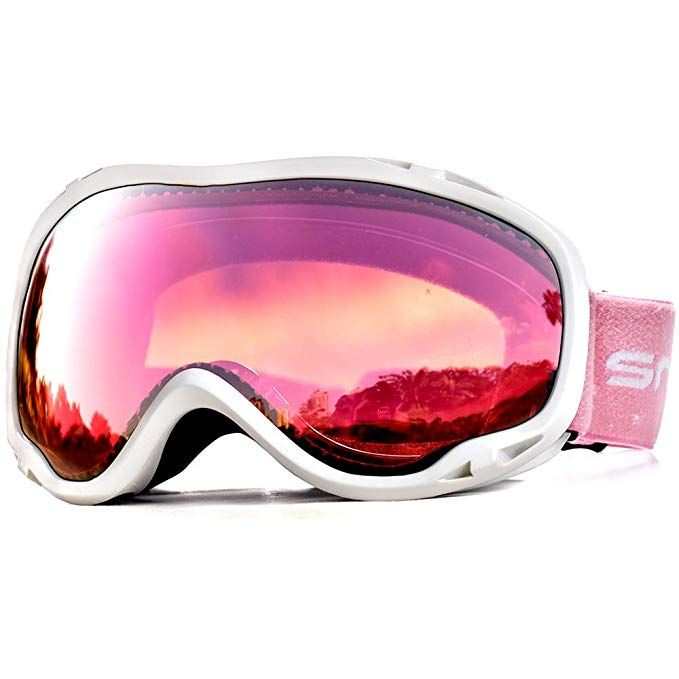 ffef149e78d HUBO SPORTS Ski Snow Goggles Clear Men Women Adult