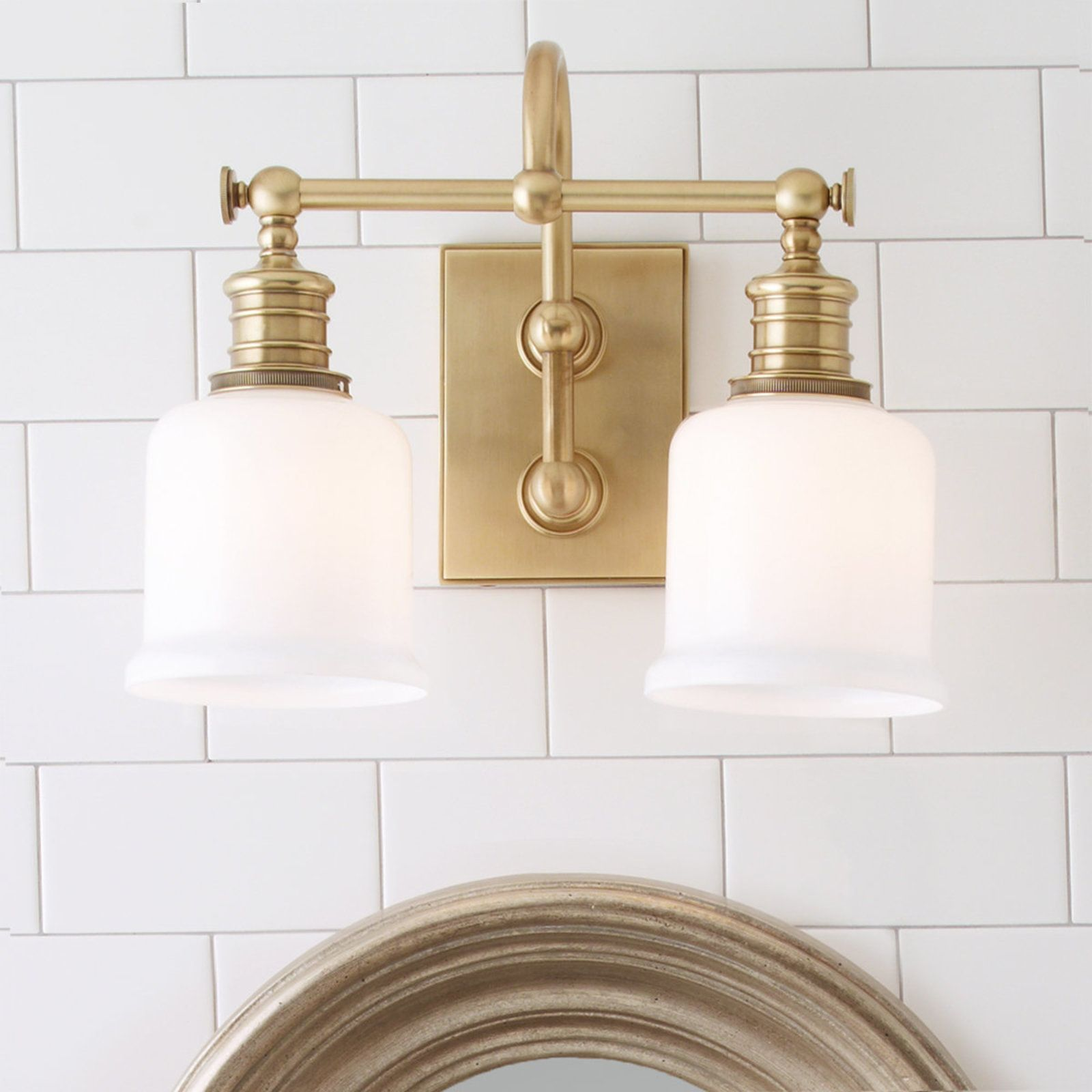 Photo of Well Appointed Bath Light – 2 Light