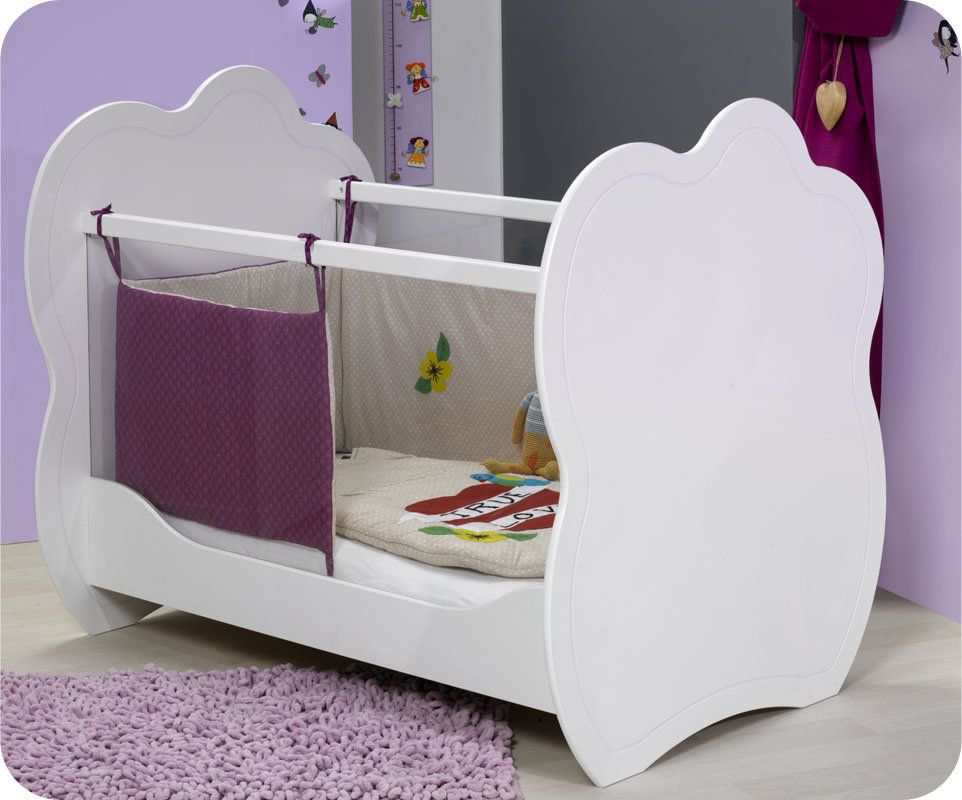 Lit Bebe En Plexi Altea Blanc Lit Bebe Design Lit Bebe Chambre