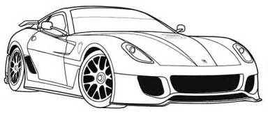Ferrari Enzo Cars Coloring Pages Ferrari Cars Scuderia Coloring Pages Gambar
