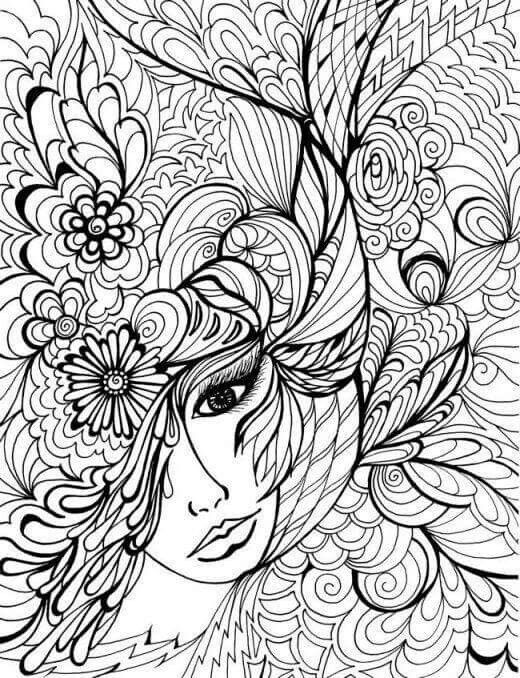 adult coloring pages - Cool Coloring Book Pages