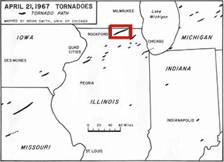Fairdale Tornado A Rare Ef4 For North Central Illinois Fairdale