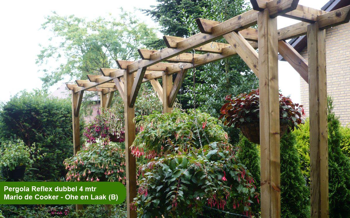 Pergola maken tekening google zoeken tuin pinterest pergolas and gardens - Pergola hout bedekt ...