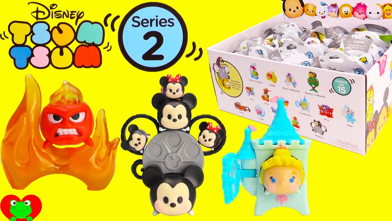 Disney Tsum Tsum Mystery Stack Pack Blind Bags Series 2