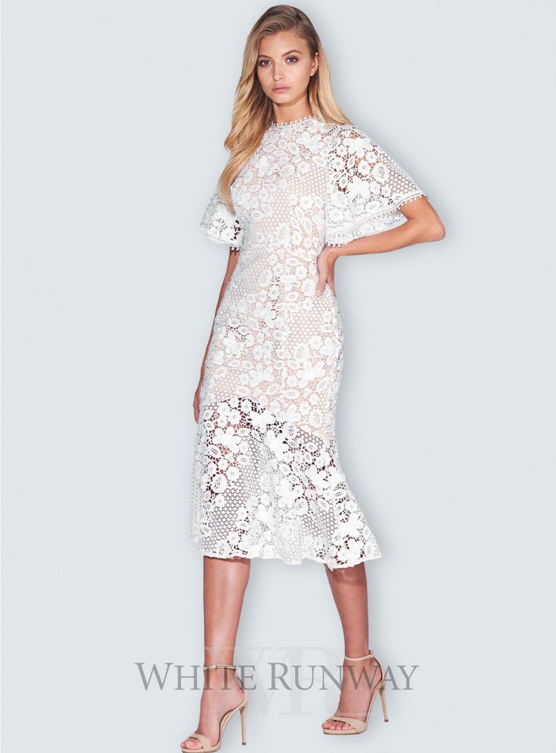 Harper Lace Dress | Lace dress, Cocktail dresses online