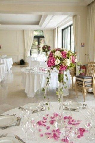 Centre De Table Mariage Vase Soliflore Decoration Table