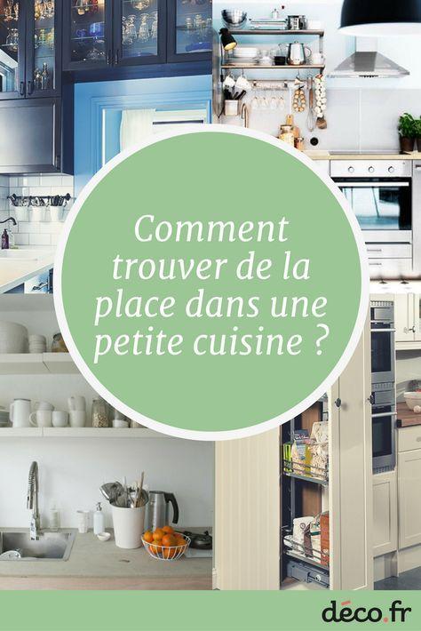 Comment trouver de la place en plus dans une petite cuisine ?